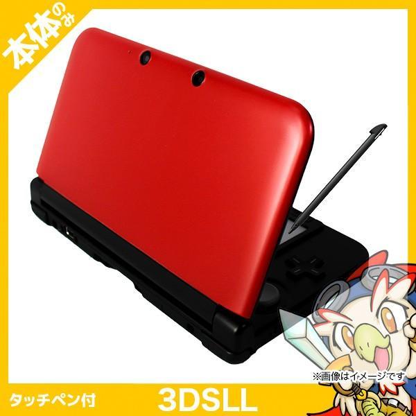 3DSLL ニンテンドー3DS LL レッドXブラック 本体のみ タッチペン付き Nintendo 任天堂 ニンテンドー 中古 送料無料|entameoukoku