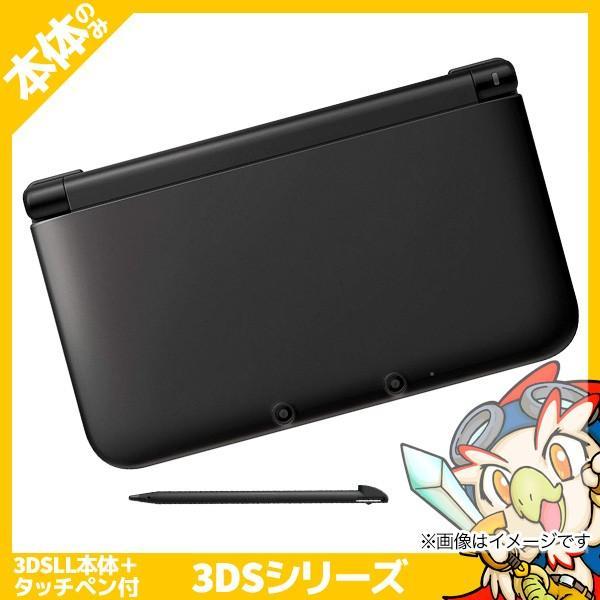 3DSLL ニンテンドー3DS LL ブラック 本体のみ タッチペン付き Nintendo 任天堂 ニンテンドー 中古 送料無料|entameoukoku