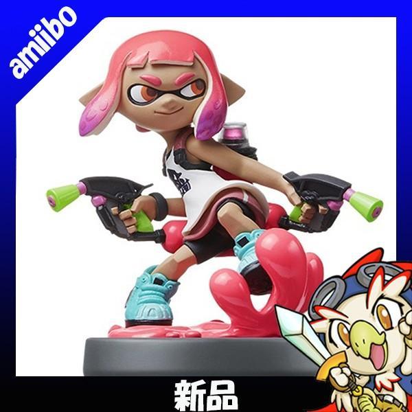 アミーボ amiibo ガール ネオンピンク スプラトゥーン2 (スプラトゥーンシリーズ) 新品 Nintendo 任天堂 ニンテンドー 送料無料|entameoukoku