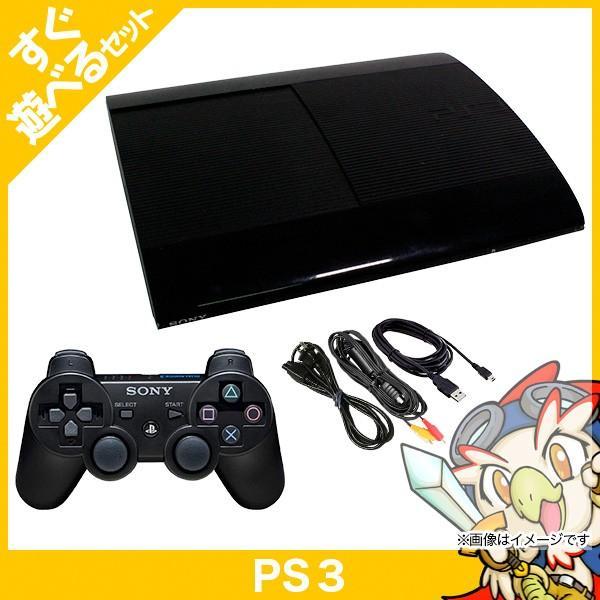 PlayStation3本体 500GB チャコールブラック CECH-4200Cの画像