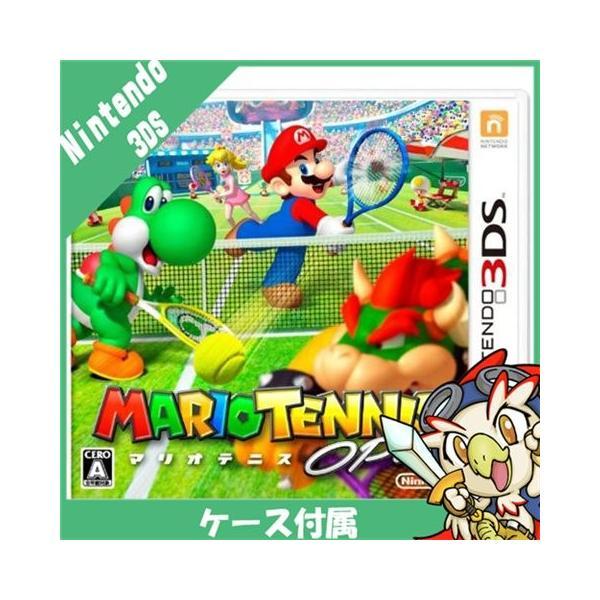 3DS MARIO TENNIS OPEN (マリオテニスオープン) ソフト ケースあり 中古|entameoukoku