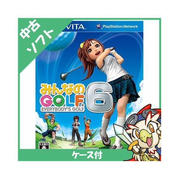 VITA PS Vita みんなのGOLF6 みんゴル ゴルフ ソフト ケースあり PlayStationVita SONY ソニー 中古 送料無料|entameoukoku