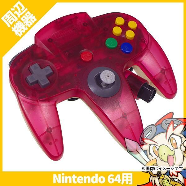 コントローラーブロス(クリアレッド) N64の画像