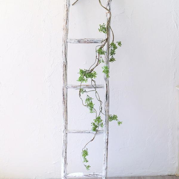 ねじねじ枝ロング いなざうるす屋 壁飾り イミテーショングリーン 壁掛けインテリア 観葉植物 ウォールデコレーション フェイクグリーン