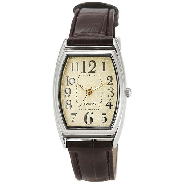 腕時計 男女兼用 ギョーシェトノークロコ アイボリー/ブラウン/ライトブラウン/ピンク/HL119 サンフレイム