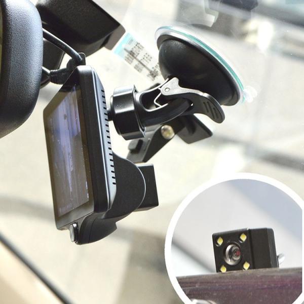 3カメラ同時録画ドライブレコーダー THACAM3D