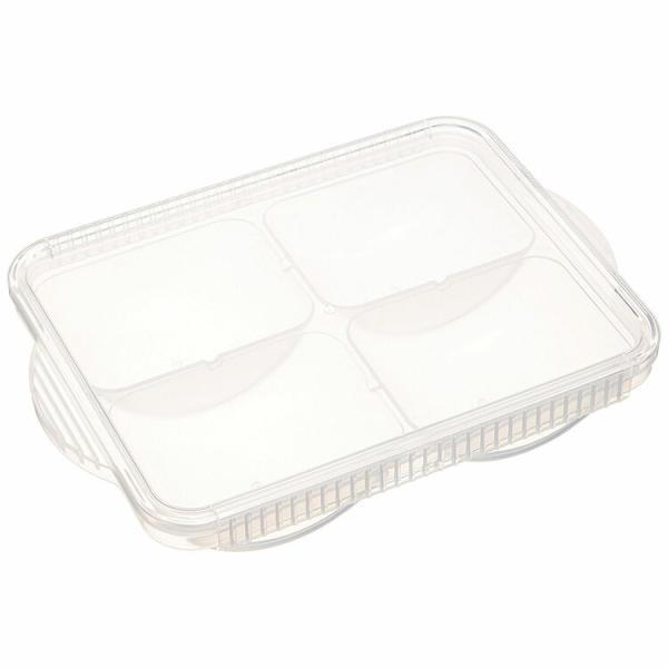 ベビーグッズ 離乳食冷凍小分けトレー 80ml×4個取り ベーシック/TRMR4