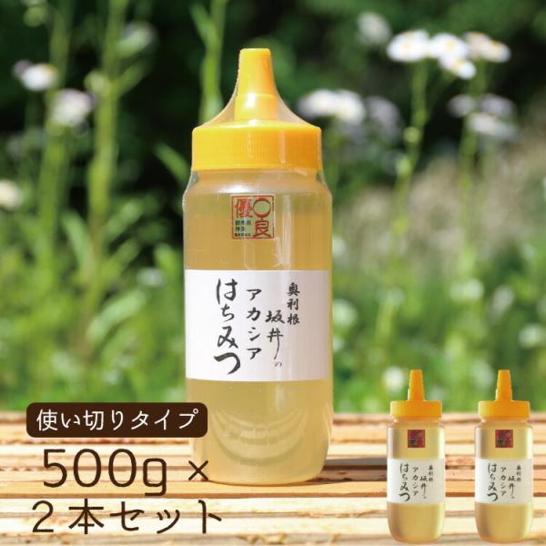 特選アカシア蜂蜜 500g×2本セット