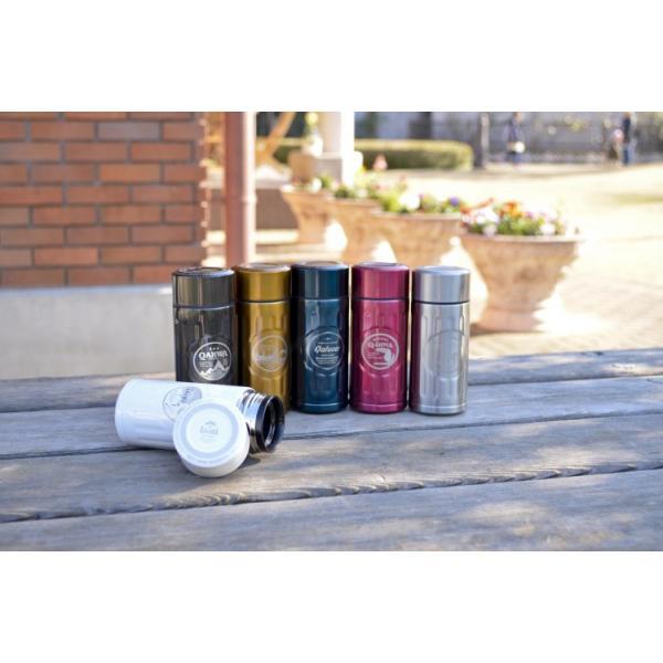 コーヒーボトル ステンレス カフア コーヒーボトル ミニ 全6カラー|enteron-shop2|04