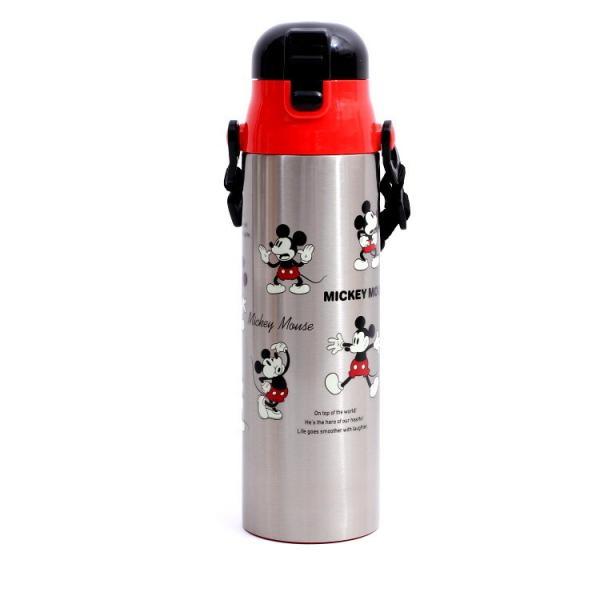 水筒 ミッキーマウス 超軽量ダイレクトボトル 1.0L ミッキーチアフル/SDC10 ディズニー ステンレス お弁当グッズ 1リットル キャラクター ランチ 昼食 運動会|enteron-shop2
