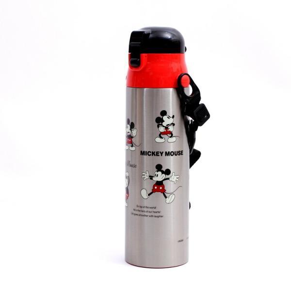 水筒 ミッキーマウス 超軽量ダイレクトボトル 1.0L ミッキーチアフル/SDC10 ディズニー ステンレス お弁当グッズ 1リットル キャラクター ランチ 昼食 運動会|enteron-shop2|02
