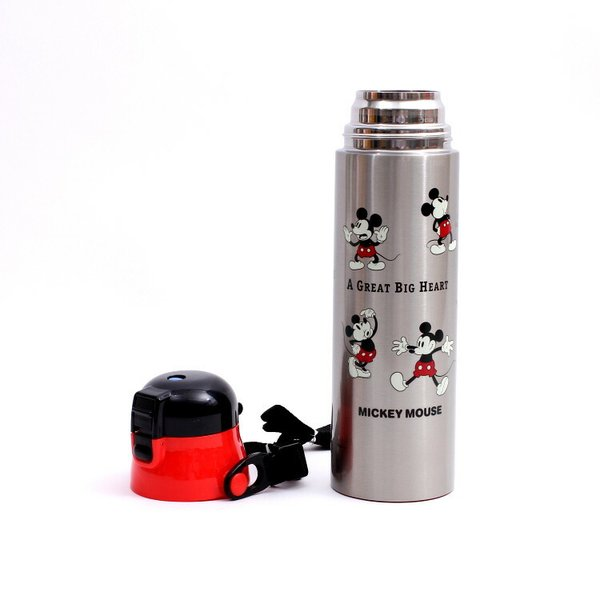 水筒 ミッキーマウス 超軽量ダイレクトボトル 1.0L ミッキーチアフル/SDC10 ディズニー ステンレス お弁当グッズ 1リットル キャラクター ランチ 昼食 運動会|enteron-shop2|05
