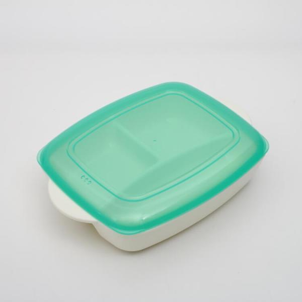 弁当箱 シニアベーシック おうちで食べるお弁当箱M シニアベーシック/LHM1 おうちご飯 おうちランチ ワンプレート ランチプレート プレート トレー 家用
