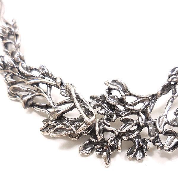 イタリア製:燻し銀ネックレス