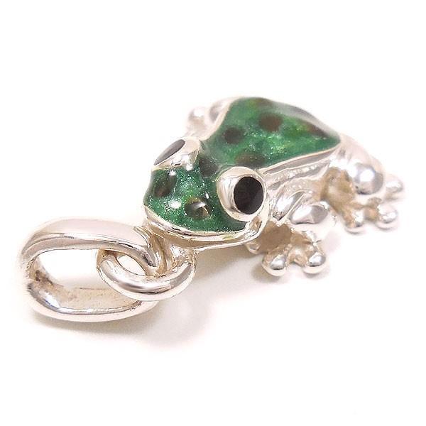 サツルノ:カエルの銀製チャーム