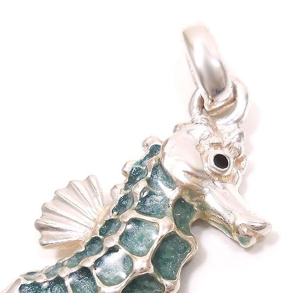 サツルノ:タツノオトシゴの銀製チャーム