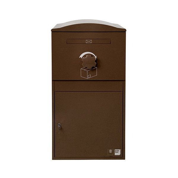 英国発のオシャレな戸建用宅配ボックス brizebox(ブライズボックス) EXラージサイズ ショコラ|entorance|01