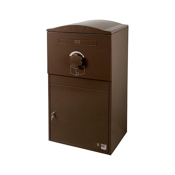 英国発のオシャレな戸建用宅配ボックス brizebox(ブライズボックス) EXラージサイズ ショコラ|entorance|02
