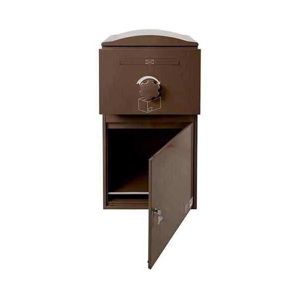 英国発のオシャレな戸建用宅配ボックス brizebox(ブライズボックス) EXラージサイズ ショコラ|entorance|03