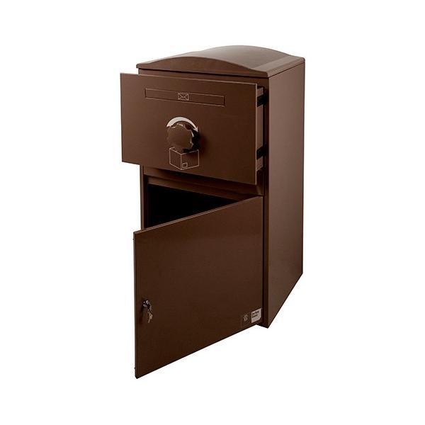 英国発のオシャレな戸建用宅配ボックス brizebox(ブライズボックス) EXラージサイズ ショコラ|entorance|04