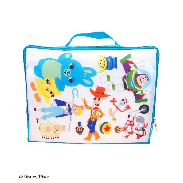 トラベル収納バッグM トイ・ストーリー 4 Pixar Collection ピクサーコレクション 旅行 トラベル ポーチ バッグ 服 収納 ピクサー ディズニー