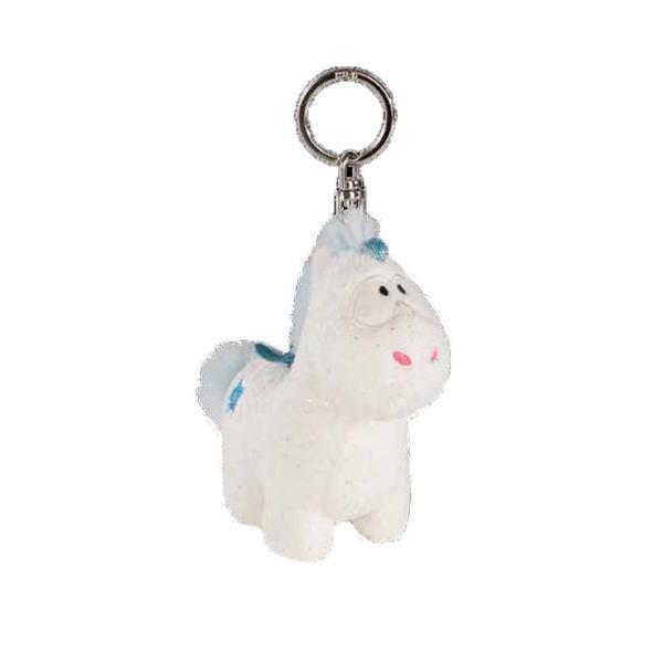 キーホルダー キーリング  NICI ニキ ユニコーン テオリーノ ブルー 10cm 雑貨 キッズ おもちゃ ブレゼント ギフト かわいい キャラクター