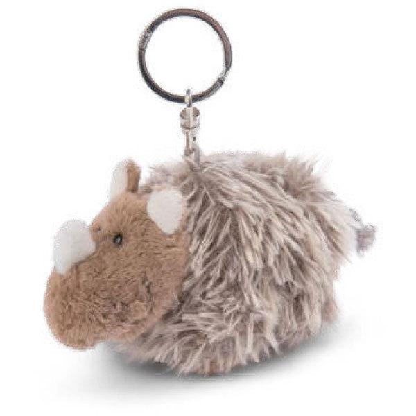 キーリング BB ウールライノ エリノア 10cm NICI ニキ ドイツ ぬいぐるみ 動物 ふわふわ ギフト バッグアクセサリー バッグチャーム