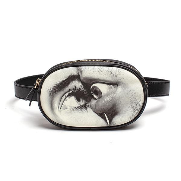 ウエストポーチ Mouth eye Seletti ポーチ 個性的 TOILETPAPER ケース かわいい おしゃれ バッグ / SELETTI セレッティ