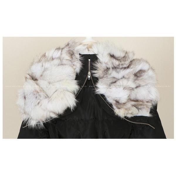 コート レディース ロング丈 ロングコート きれいめ フォックスファー 30代 40代 50代 ファッション 女性 高級感 上品 秋 黒