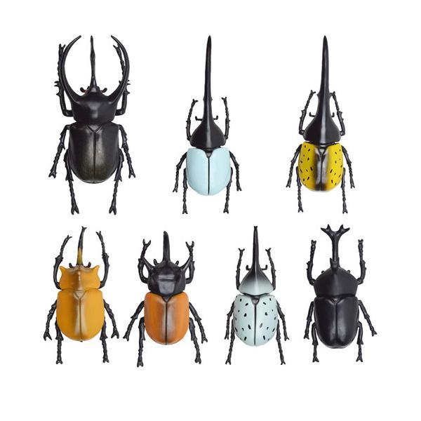 カブトムシ おもちゃ 立体昆虫図鑑 世界のカブトムシ