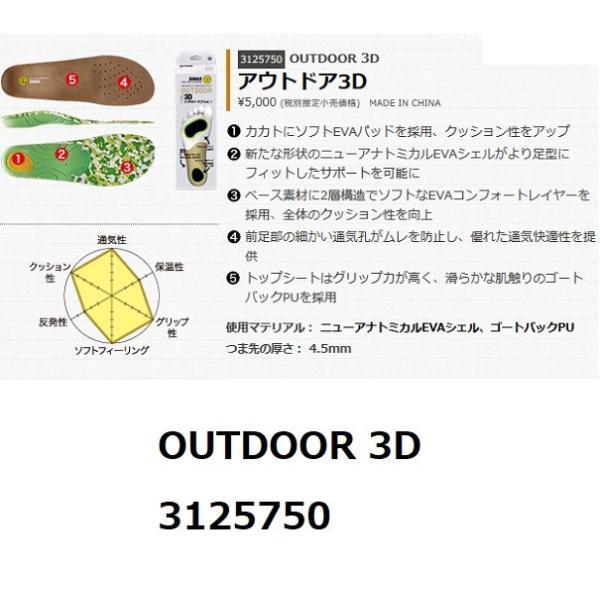 SIDAS アウトドア3D OUTDOOR 3D インソール 3125750|epicacom|02