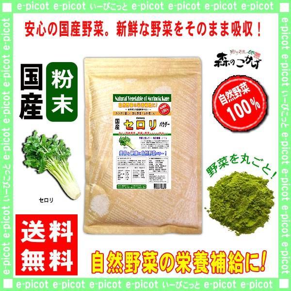 国産 セロリ 粉末 300g せろり パウダー 業務用 野菜粉末 送料無料 森のこかげ