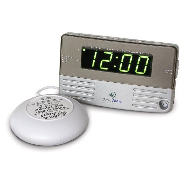 大音量&爆裂振動式目覚し時計