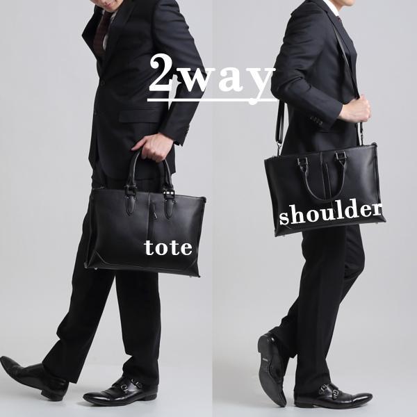 ビジネスバッグ メンズ 大容量 高品質PUレザー 高機能 2way ビジネス メンズ バッグ A4 PC 使い勝手 ジャズマンクラシックトート おしゃれ カバン 鞄 40代 50代|epoca|03