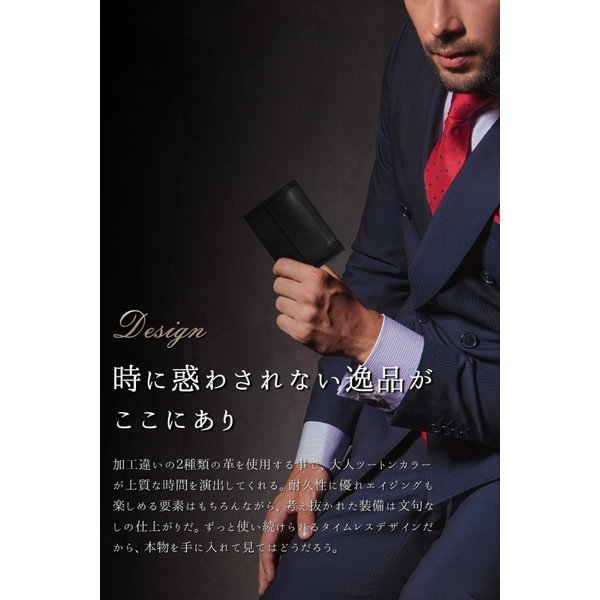 マネークリップ 小銭入れ付き メンズ 財布 革 ブランド 本革 日本製 全3色 MC01 送料無料 eredita-ys 04