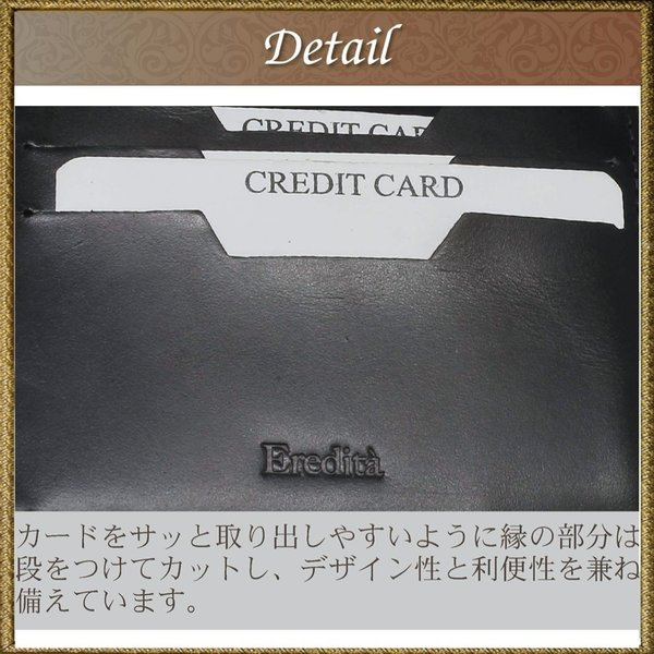 マネークリップ 小銭入れ付き メンズ 財布 革 ブランド 本革 日本製 全3色 MC01 送料無料 eredita-ys 09