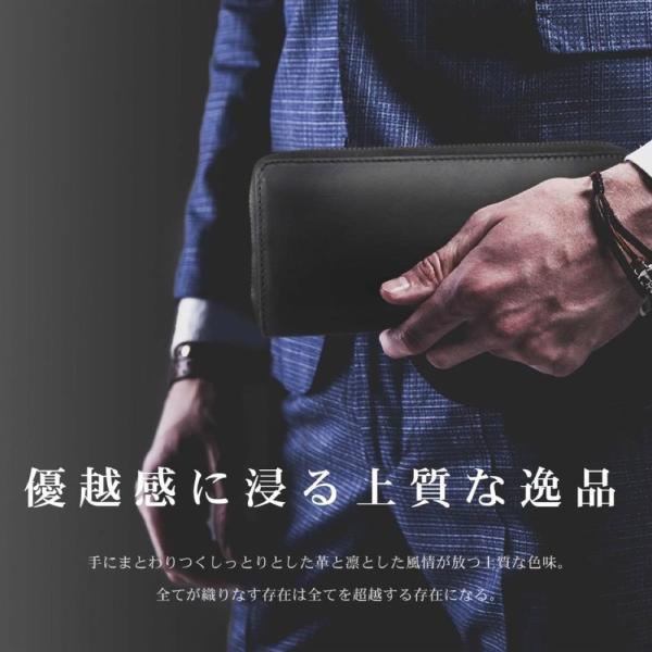 財布 メンズ 長財布 本革 ラウンドファスナー 革 イタリア革の王様 ブッテーロ レザー 日本製 ブランド 全4色 WL10|eredita-ys|04