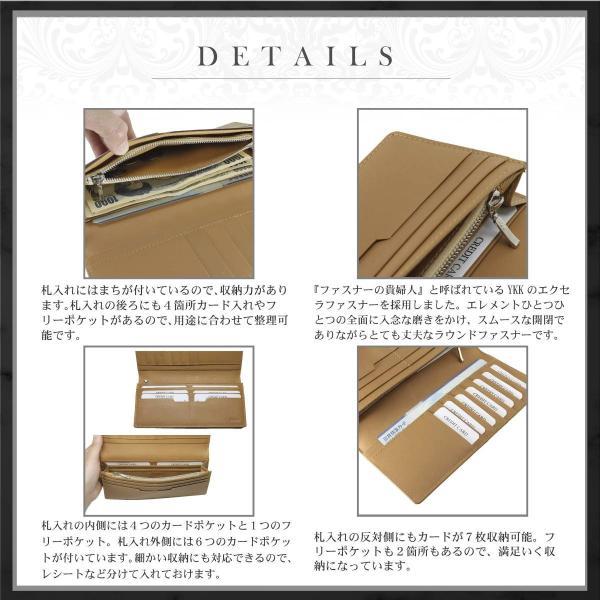 財布 メンズ 長財布 二つ折り 革 イタリア革の王様ブッテーロレザー 本革 日本製 全4色 WL12 送料無料|eredita-ys|05