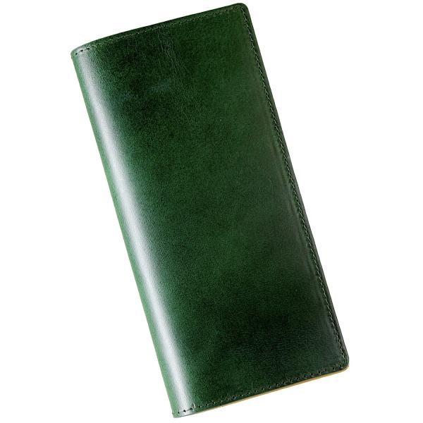 財布 メンズ 長財布 二つ折り 革 イタリア革の王様ブッテーロレザー 本革 日本製 全4色 WL12 送料無料|eredita-ys|18