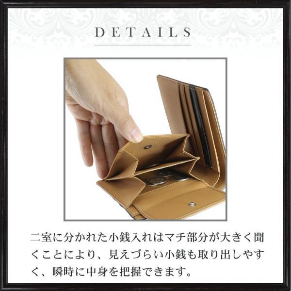 財布 メンズ 二つ折り財布 日本製 革 英国トーマスウェア社 本革 ブライドルレザー ブランド 全4色 WL14 送料無料 eredita-ys 17