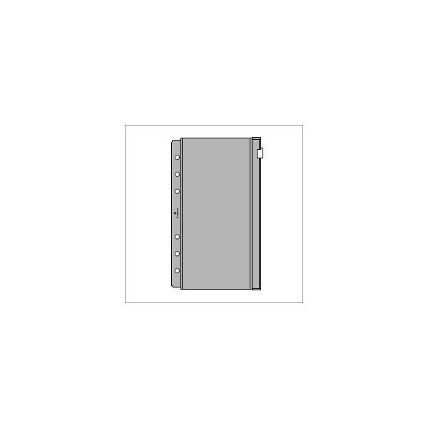 ASHFORD バイブルサイズシステム手帳用リフィル ビニールポーチ