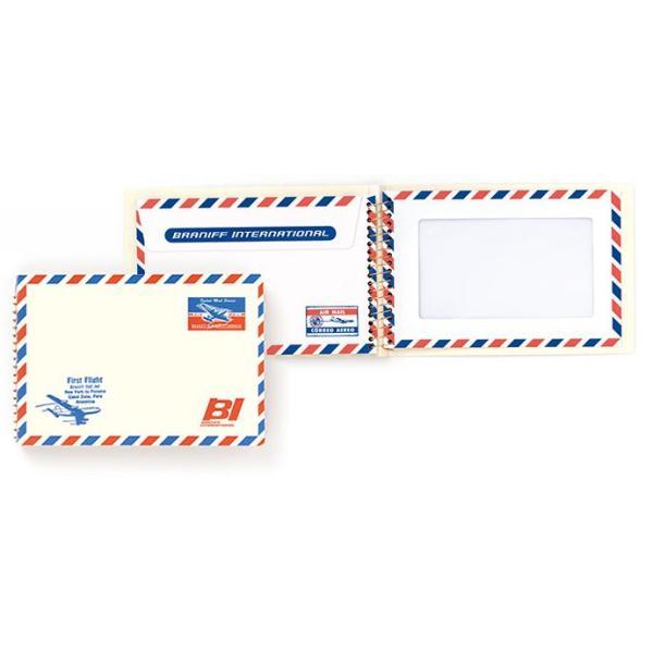 MIDORI BRANIFF ブラニフ スパイラルリングノート B6サイズ 窓付封筒タイプ <br>(ミドリ/デザインフィル)