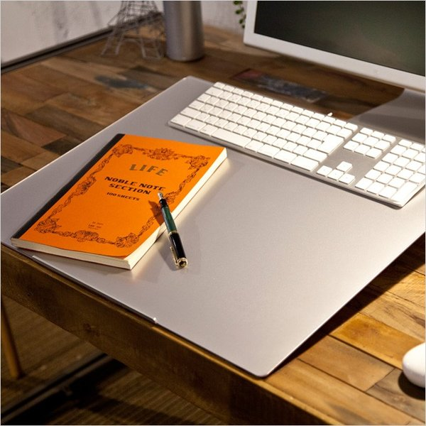angle10 アングルテン ノートパソコンスタンド パソコン キーボード 台 PC 卓上傾斜台 猫背 姿勢 改善 BORDERLESS 専用マット付属 送料無料 シルバー ブラック|ergohuman|11