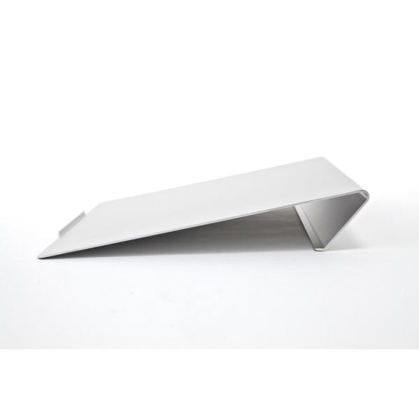 angle10 アングルテン ノートパソコンスタンド パソコン キーボード 台 PC 卓上傾斜台 猫背 姿勢 改善 BORDERLESS 専用マット付属 送料無料 シルバー ブラック|ergohuman|13