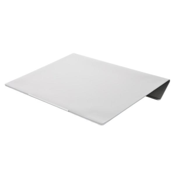 angle10 アングルテン ノートパソコンスタンド パソコン キーボード 台 PC 卓上傾斜台 猫背 姿勢 改善 BORDERLESS 専用マット付属 送料無料 シルバー ブラック|ergohuman|14