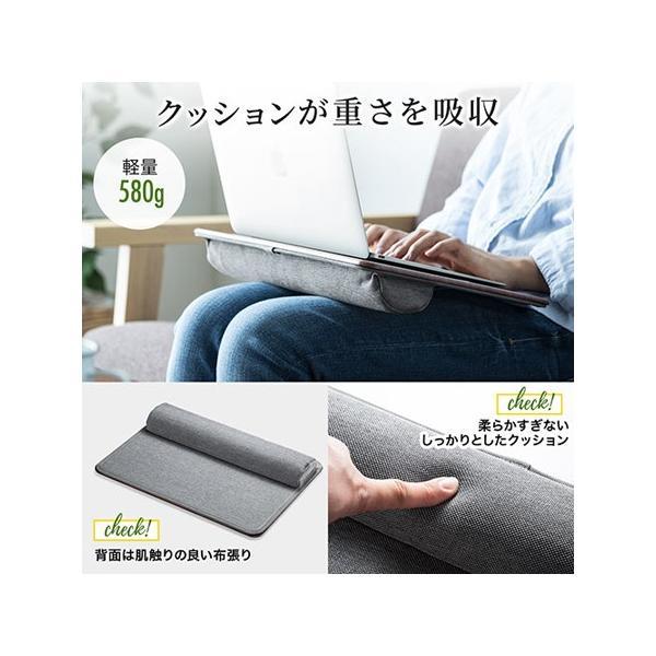 膝上テーブル ノートパソコンPCスタンド ラップトップテーブル 車 木目調|ergs|03