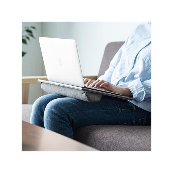 膝上テーブル ノートパソコンPCスタンド ラップトップテーブル 車 木目調|ergs|08