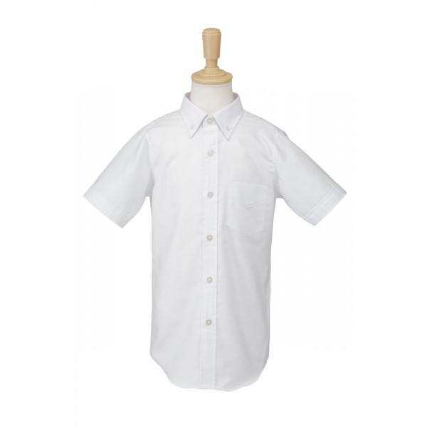 男児ボタンダウンシャツ 白 お受験 95100110120130|ernie-essie