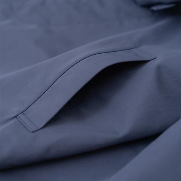 濃紺ナイロンコート 男児 通学 お受験 アウター ジャケット 100 110 120 130 140 ライナー着脱 撥水 レインコート 両ポケット|ernie-essie|05