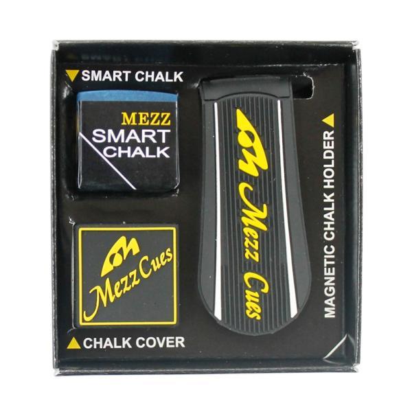ビリヤード チョーク MEZZ SMART CHALK SET [メッヅ スマートチョーク セット]|ersports